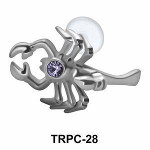 Scorpion Tragus Piercing TRPC-28
