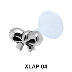 Pretty Bow External Labrets Piercing XLAP-04