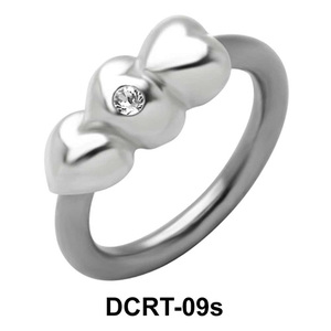 Stony Hearts Belly Piercing Ring DCRT-09s