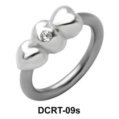 Stony Hearts Belly Piercing Ring DCRT-09s