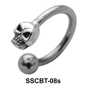 Skull Circular Barbells CBRT-08s