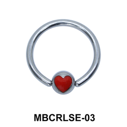 Heart Closure Rings MBCRLSE-03
