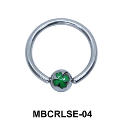 Shamrock Closure Rings MBCRLSE-04