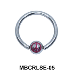 Peace Closure Rings MBCRLSE-05