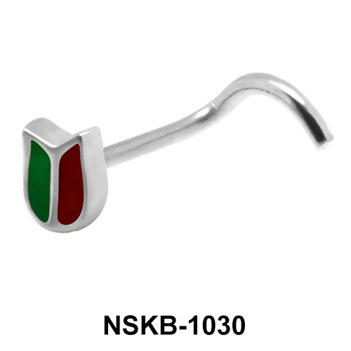 Silver Nose Stud NSK-1030