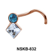 Diamond Stone Nose Stud NSK-832