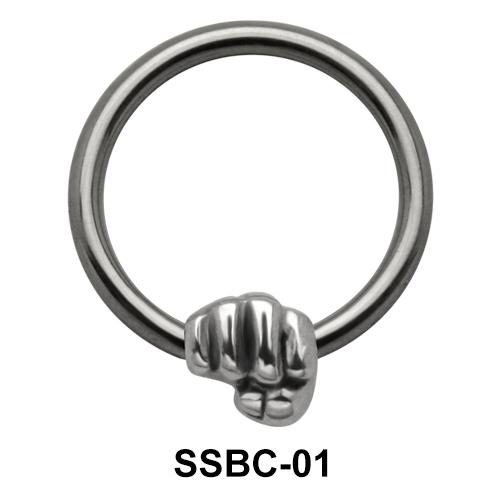Punch Closure Rings Mini Attachments SSBC-01