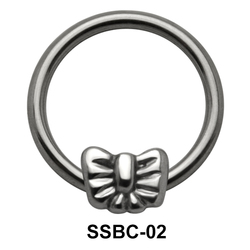 Bow Closure Rings Mini Attachments SSBC-02