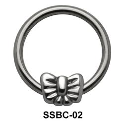 Bow Closure Rings Mini Attachments SSBC-02
