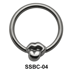 Hanging Tongue Closure Rings Mini Attachments SSBC-04