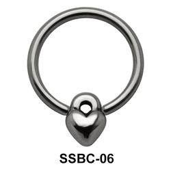 Lock n Heart Closure Rings Mini Attachments SSBC-06