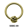 Rose Closure Rings Mini Attachments SSBC-09