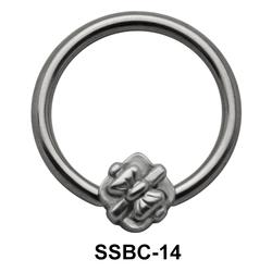 Bow Closure Rings Mini Attachments SSBC-14