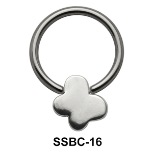 Shiny Butterfly Closure Rings Mini Attachments SSBC-16