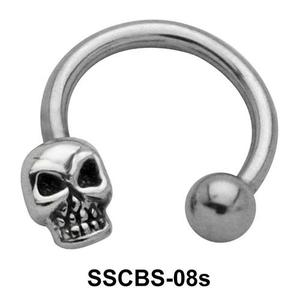 Skull Shaped Circular Barbells SSCBS-08s