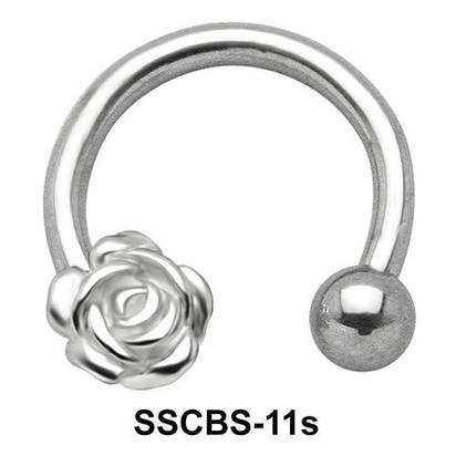 Rose Circular Barbells SSCBS-11s