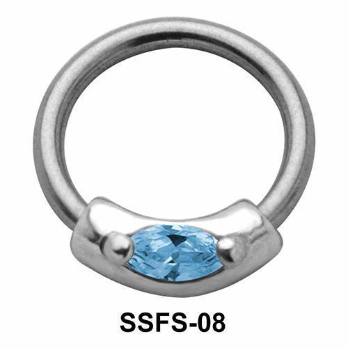 Tablet Face Closure Ring SSFS-08