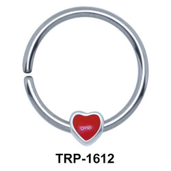 Cool Heart Shaped Tragus Piercing TRP-1612