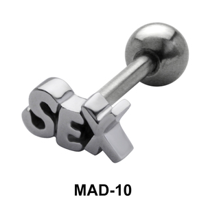 Sex S316L Tongue Piercing MAD-10
