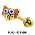 Elephant S316L Tongue Piercing MAD-163E