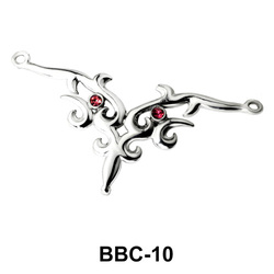 Crown Shaped Back Belly Chain BBC-10