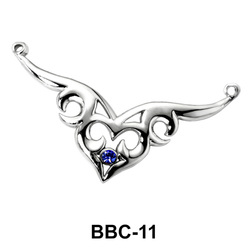 Mask Shaped Back Belly Chain BBC-11