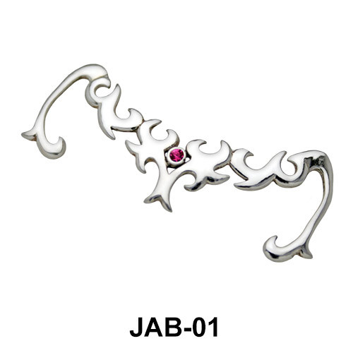 Complicated Design Jeweled Arm Band JAB-01