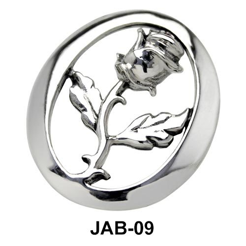 Rose in Ring Jeweled Arm Band JAB-09