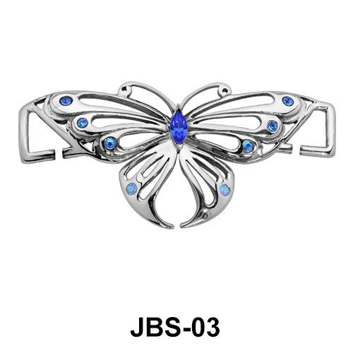 Butterfly Jewelled G-String JBS-03