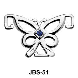 Butterfly Jewelled G-String JBS-51