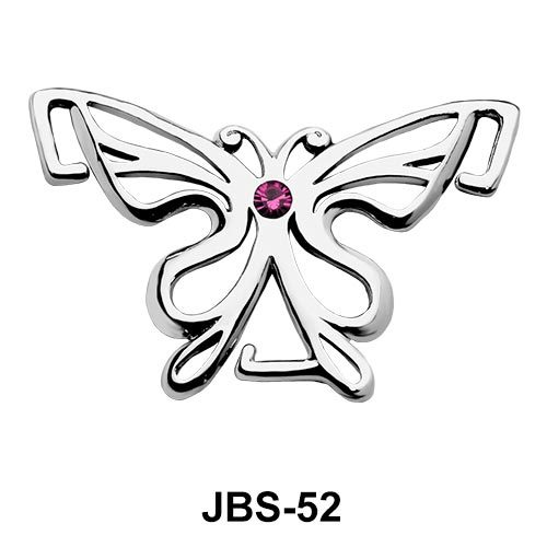 Artistic Butterfly Jewelled G-String JBS-52
