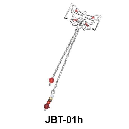 Butterfly Jeweled Bikini Top JBT-01h