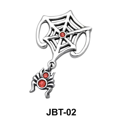 Spider n Web Jeweled Bikini Top JBT-02