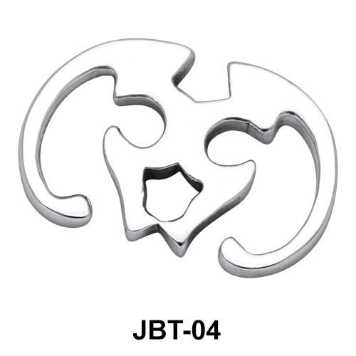Oxen Skull Jeweled Bikini Top JBT-04