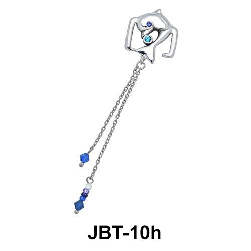 Dolphin Jewelled Bikini Top JBT-10h