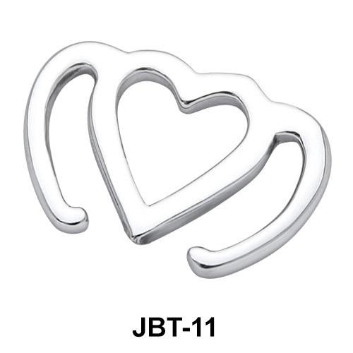Heart Jewelled Bikini Top JBT-11