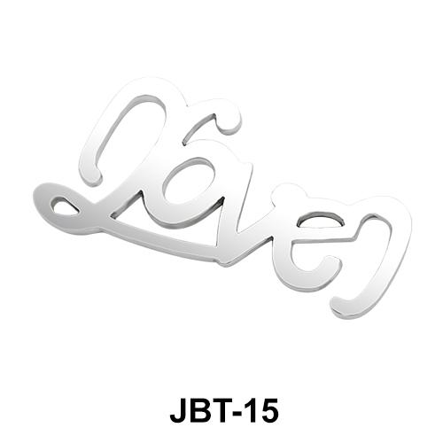 Love Jeweled Bikini Top JBT-15