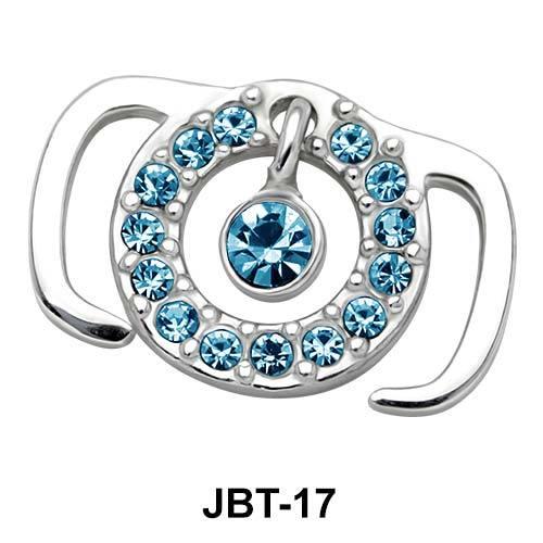 Ring Jewelled Bikini Top JBT-17
