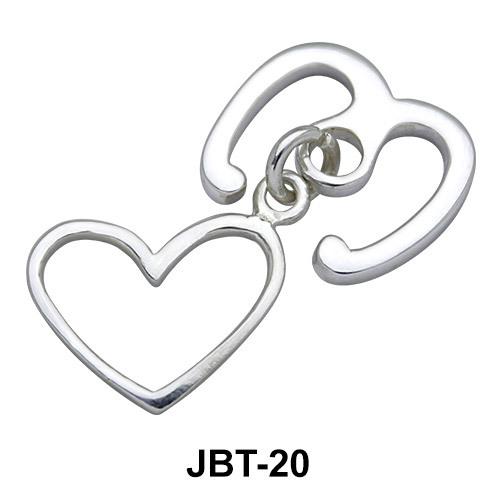 Heart Jewelled Bikini Top JBT-20