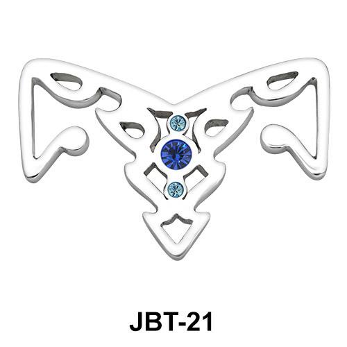 Arrow Jewelled Bikini Top JBT-21