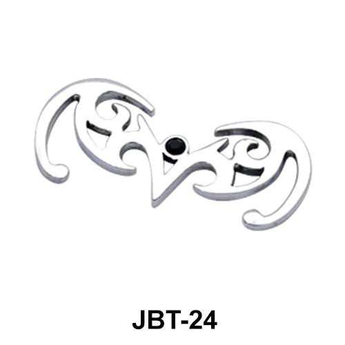 V Design Jeweled Bikini Top JBT-24