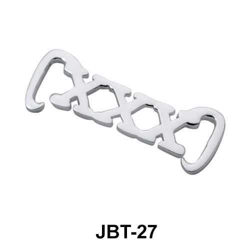 Triple X Jeweled Bikini Top JBT-27