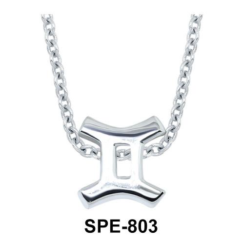 Gemini Zodiac Sign Pendants Line SPE-803