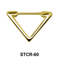 Triangle Septum Piercing STCR-60