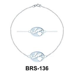 Silver Bracelets BRS-136