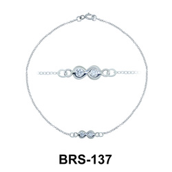Silver Bracelets BRS-137