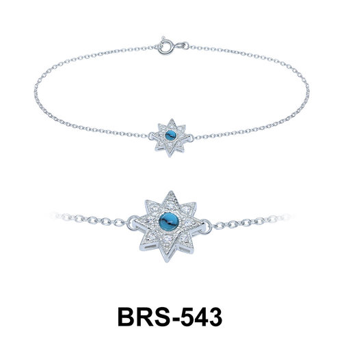 Silver Bracelets BRS-543