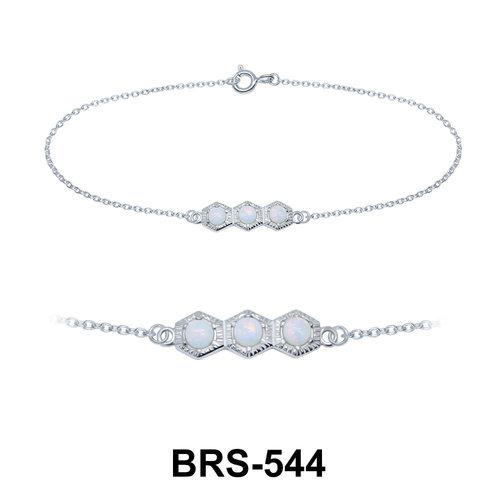 Opal Silver Bracelets BRS-544