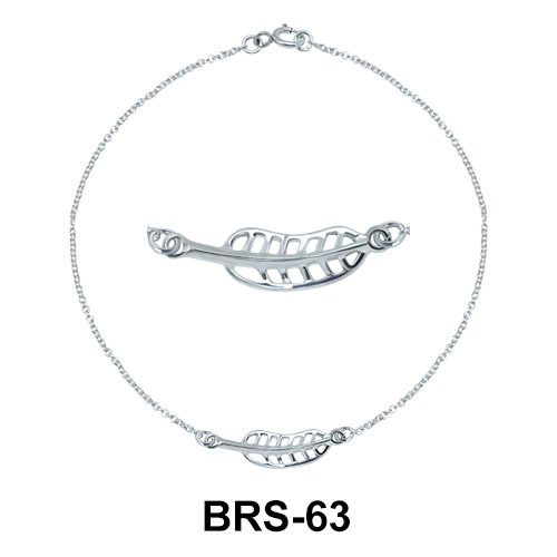 Leaf Pendant BRS-63