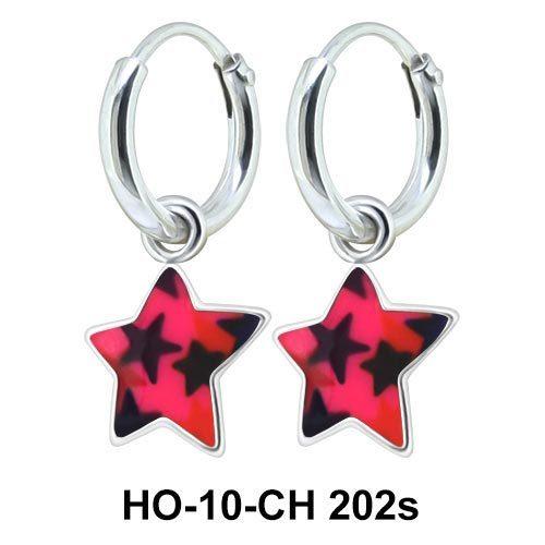Kids Earring Charms Star Designed HO-10-CH-202s
